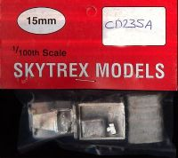 Skytrex 15mm CD235A WWII US GMC SWB Truck, Soft Top Cab